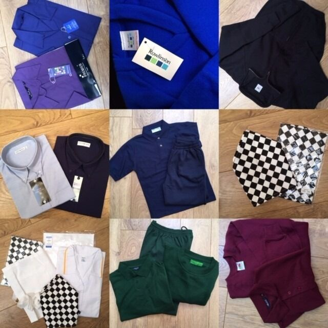 Back to school catering and mens/ladies clothing. NEW