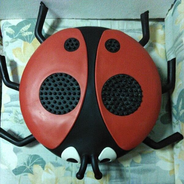 """Ladybird Beetle Booster Bugs """"Build Me Up"""", Support Posture & Conversion Thru Active Sitting"""