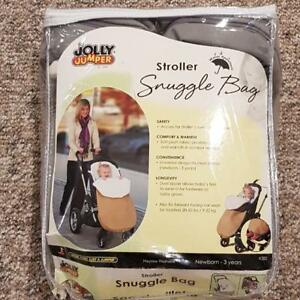 BNIB JOLLY JUMPER SNUGGLE BAG (FITS NEWBORN - 3YR)