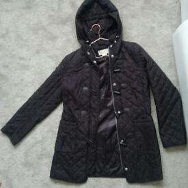 MICHAEL KORS Brown Quilted Coat size SP(6/8/10) excellent condition Will Post