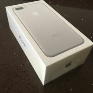 APPLE IPHONE 7 PLUS 32GB SILVER UNLOCKED BRAND NEW SEALED