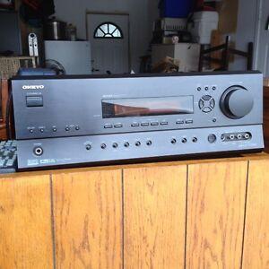 ONKYO Receiver,SONY five Disc CD Player, Sony Bluray DVD,Speaker