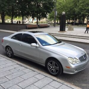 2005 Mercedes-Benz CLK 320 Grey Coupe (2 door)