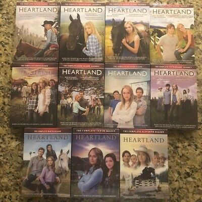 Heartland Seasons 1-11 The Complete Series DVD