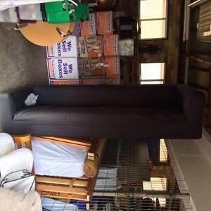 Black couch Mosman Mosman Area Preview