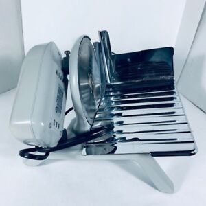 RIVAL - electric food slicer- trancheuse electrique