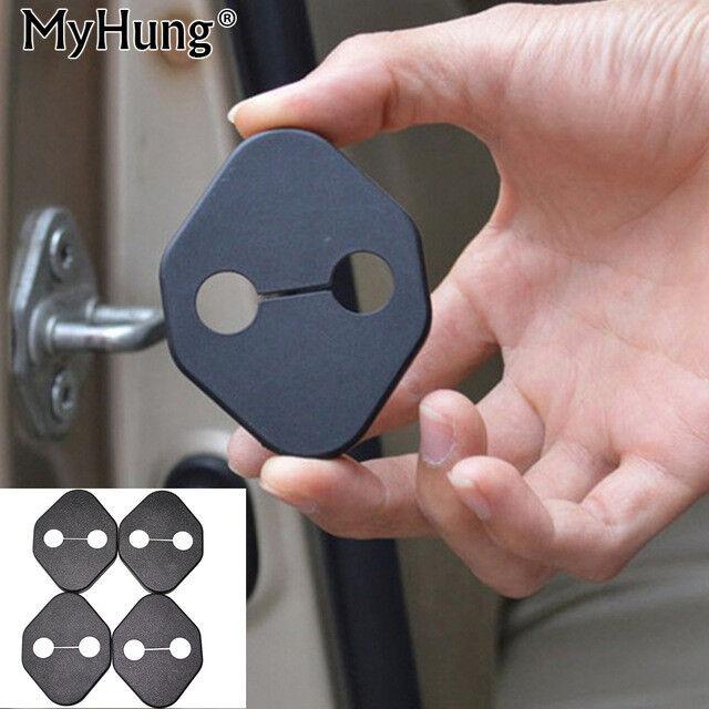 Car Door  Lock Protective auto Cover Catch Buckle Sticker Interior Accessorie