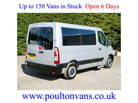 2014 (14) RENAULT MASTER SL30 PASSENGER SWB 4 SEAT WHEELCHAIR ACCESS 125PS