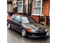Honda Civic eg Vti turbo road/track ready not vti type r turbo Subaru Evo