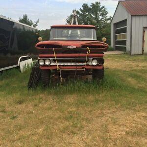 1960 CHEVY 4 X 4 WRECKER