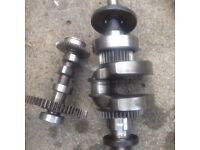 Honda 9hp GD411 STD Generator Faulty Crankshaft. Needs Regrind £400 from Honda!. Can Post.