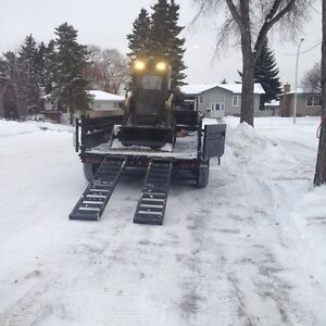 Skid Steer / Bob Cat Services-landscaping,snow, windrows Edmonton Edmonton Area image 7