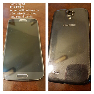 Samsung S4 - FOR PARTS