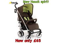 Brand new in box Hauck spirit stroller buggy pram pushchair in kiwi from birth big good