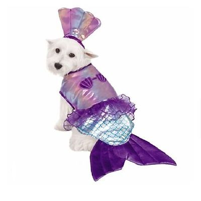 Dog Mermaid Costume (ON SALE Iridescent Mermaid Halloween Dog Pet Costume X-Small (New with)