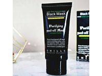 SHILLS Deep Cleansing Peel-Off Black Face Mask Blackhead Remover 50ml