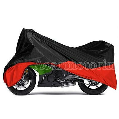 L Motorcycle Scooter Waterproof UV Dust Protector Rain Cover For Honda Yamaha CB