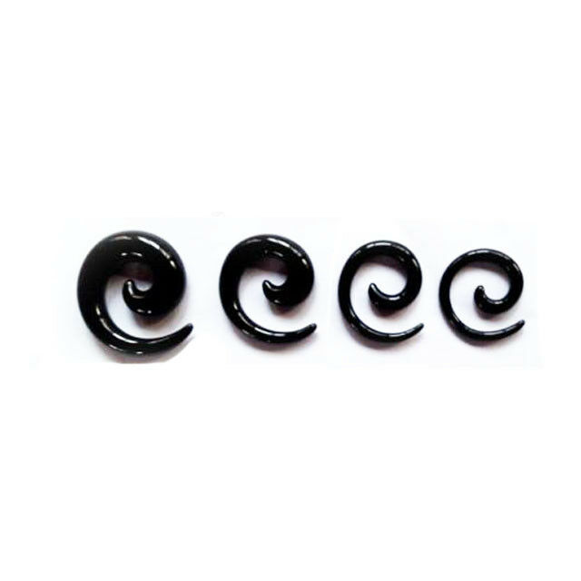 40Pcs Acrylic Ear Stretching Gauge Kit Taper Tunnel Plug 14G-00G Piercing Set Body Jewelry