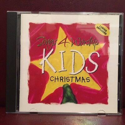 Time Life Music Songs 4 Worship Kids Christmas 12 track 2003 cd with lyrics - Kids Songs Music Lyrics