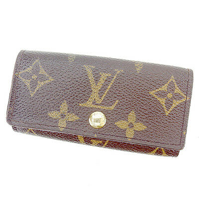 Разное Auth Louis Vuitton key holder