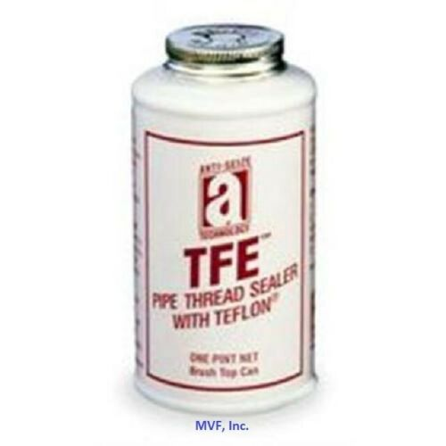 Anti-Seize 14018 Teflon Pipe Thread Sealant w/PTFE 1 Pint Can Brush Top <129ER02