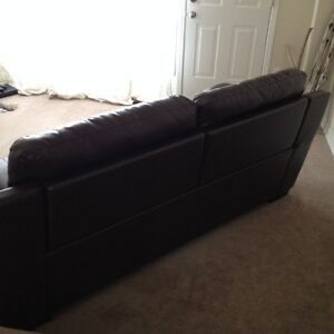 Luxury Genuine Leather reclining couch NEW London Ontario image 2