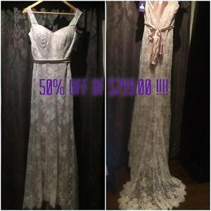 Moving sale! All Bridal gowns 50%-80% off