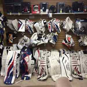 New and used Skates & hockey equip.. at Rebound!!!