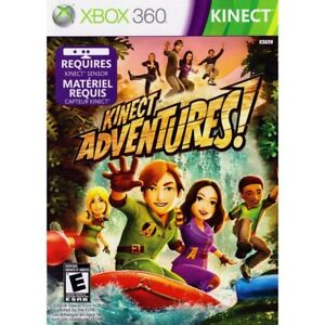 XBox 360 Kinect Sensor with Sealed Kinect Adventure Game