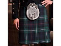 Men's kilt (Large) - never worn - MacKenzie tartan