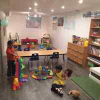 Childcare spots available for all ages