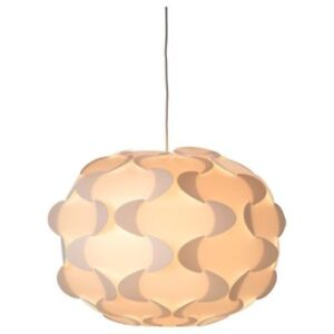 IKEA Fillsta Origami Pendant Lamp, Large 19in with LED Bulb
