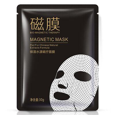 BIO Magnet-Therapie Gesichtsmasken Tuchmaske Gesichtspflege Hautpflege Unisex