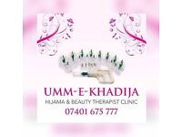 Fully qualified & certified beauty therapist hijama (cupping) laser hair removal for male and female
