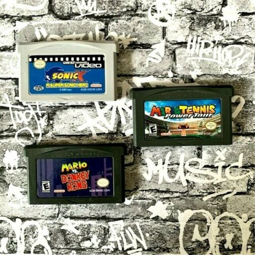 Nintendo Game Boy Advance Games Lot of 3 Games.