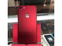 IPHONE 7 RED LIMITED EDITION/ VISIT MY SHOP./ UNLOCKED / 128 GB / GURANTEE + RECEIPT