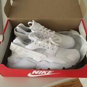 Men's white Nike air haurache - size 11 - $100 Penrith Penrith Area Preview