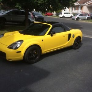 2001 Toyota MR2  Spider Cabriolet