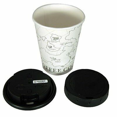 NEW Lawmate PV-CC10 720P HD Covert Hidden Spy Coffee Plastic Cup Lid Camera DVR