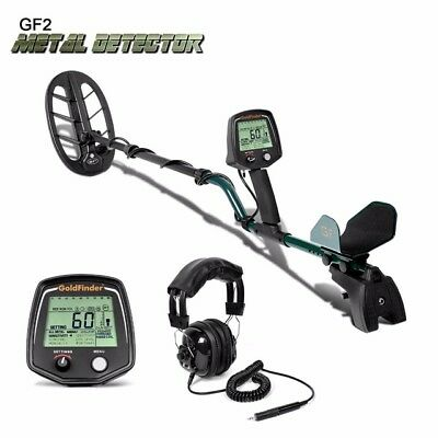 GF2 WATERPROOF DEEP SENSITIVE METAL DETECTOR GOLD DIGGER TREASURE HUNTER