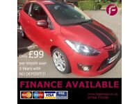Mazda 2 Sport 1.4 3dr - Only 2 Owners - New MOT - WAY BELOW RETAIL VALUE GRAB A BARGAIN DON'T DELAY!