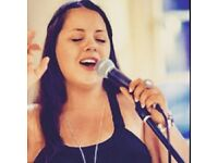 Singer available for weddings/events