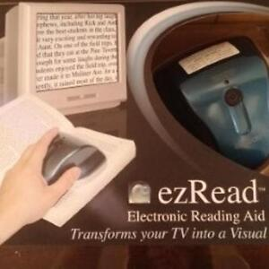 Electronic Reading Aid - EZ Reader