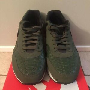 Carbon green Nike Air max 1 woven Hornsby Hornsby Area Preview