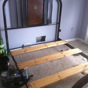 Antique Iron/Metal Bed Frame