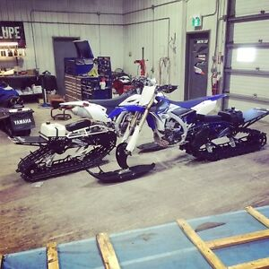 2015 Timbersled LT 2014 YZF 450 NEW LOW PRICE