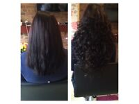 Tape On / Tiny Micro Rings / Keratine Fusion Bonds Hair Extensions