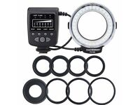 MRF32 Macro Ring Flash LED Light Nikon Canon Olympus Pentax