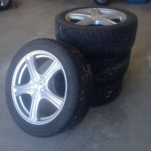 Alloy Rims with Free Snowtires