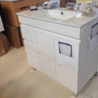 New 900x460mm 3 Drawers Bathroom Vanity with China Top Woy Woy Gosford Area Preview